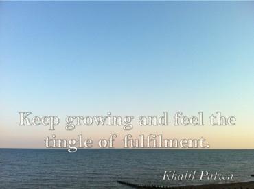 Tingle of Fulfilment