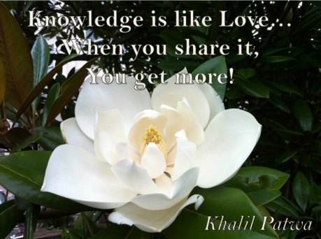 Knowledge is like Love